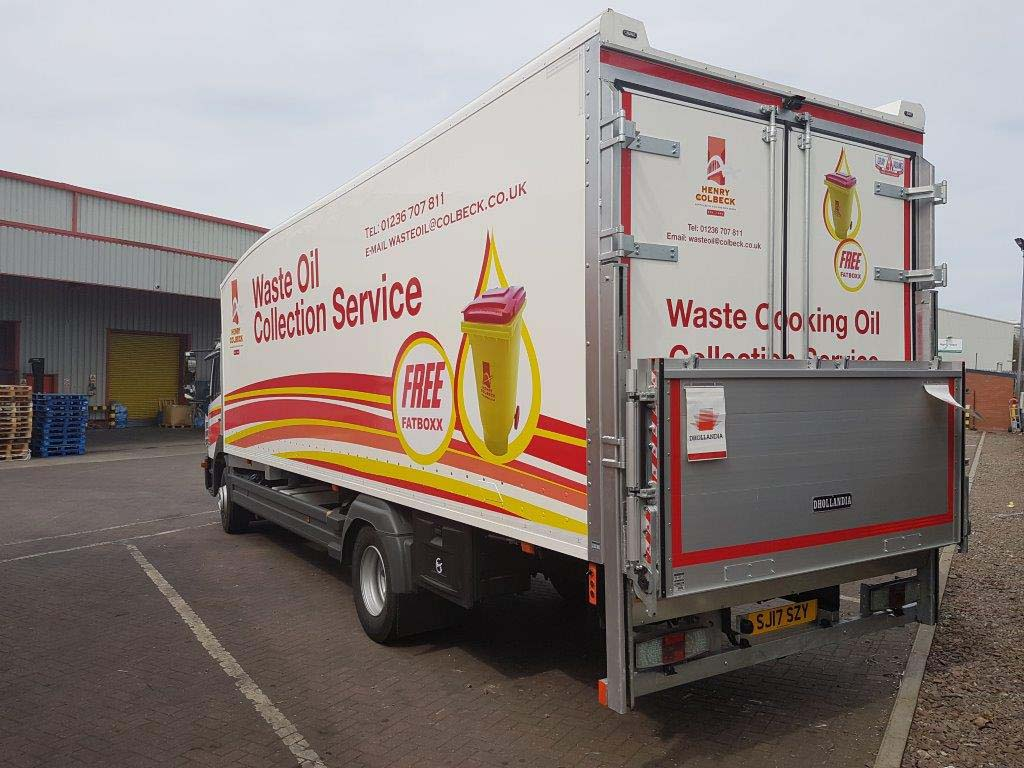 Henry Colbeck waste oil collection service