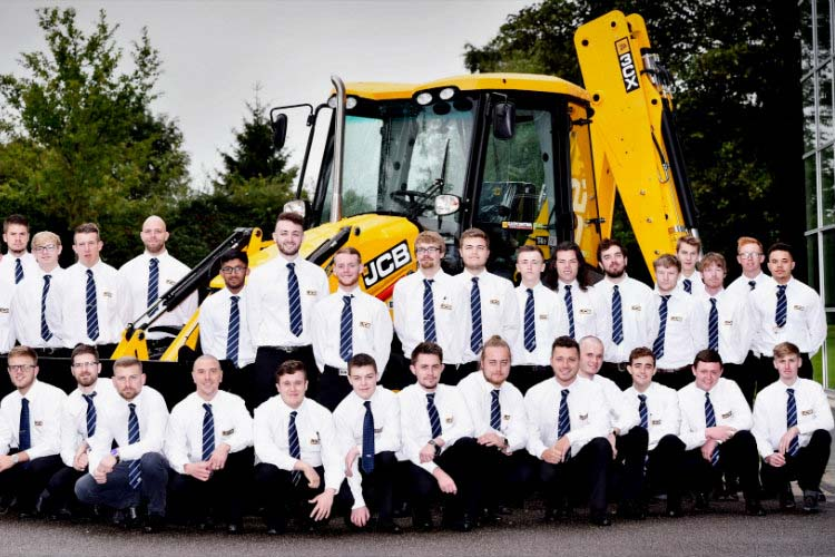 JCB's £7.5 million young talent investment scheme creates 170 jobs