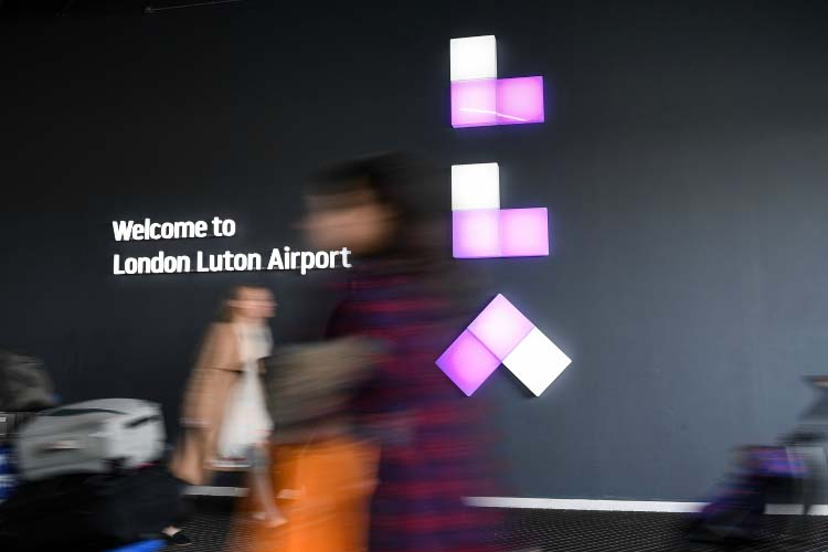 London Luton Airport smashes 1 million passenger barrier for the first time
