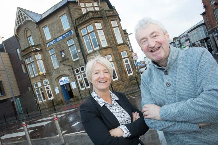 former blackpool mayor launches pub and micro-brewery