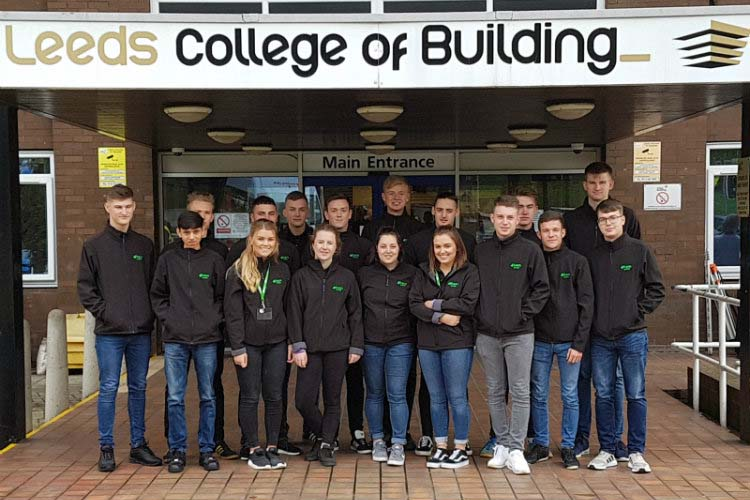 Bam Nuttall trains 50 new apprentices