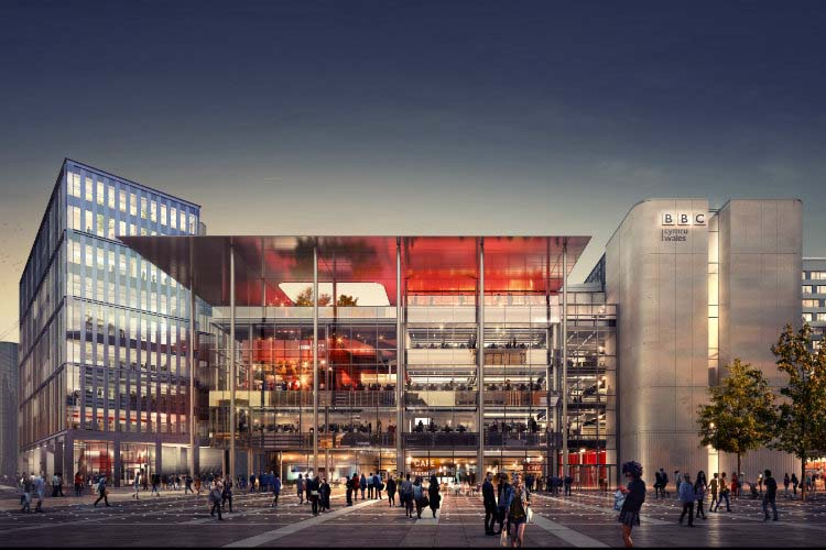 bbc gets the keys to new cardiff headquarters