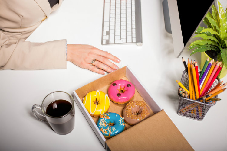 Ditch the sugar and try these snacks at work