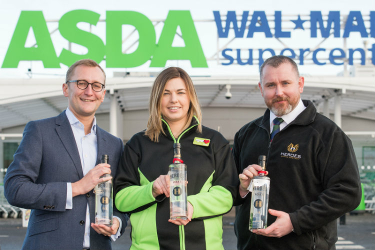 heroes drinks and asda toast to sales success
