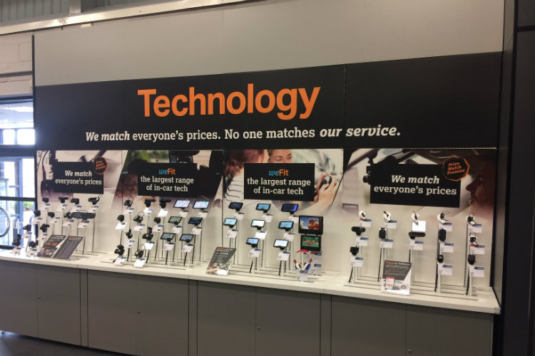 Leeds digital solutions provider UXG completes 400-store retail display project for Halfords