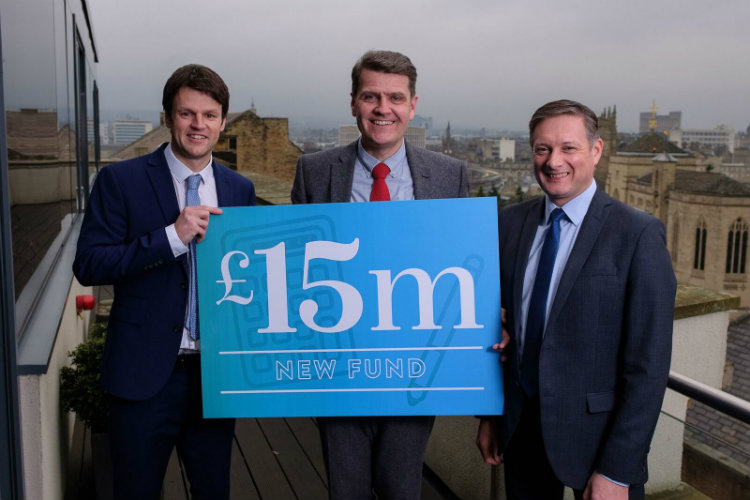 new £15m fund for the north