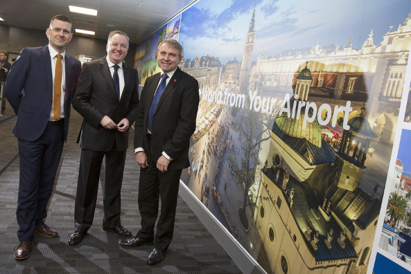aviation minister hails newcastle airport success